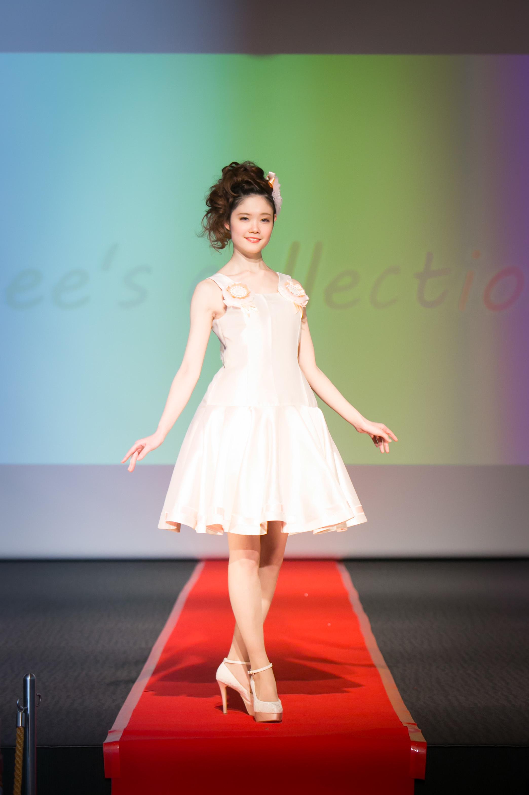 ファッションショー モデル 春霞