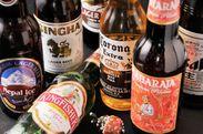 インドのお酒をはじめ、様々なお酒をご用意