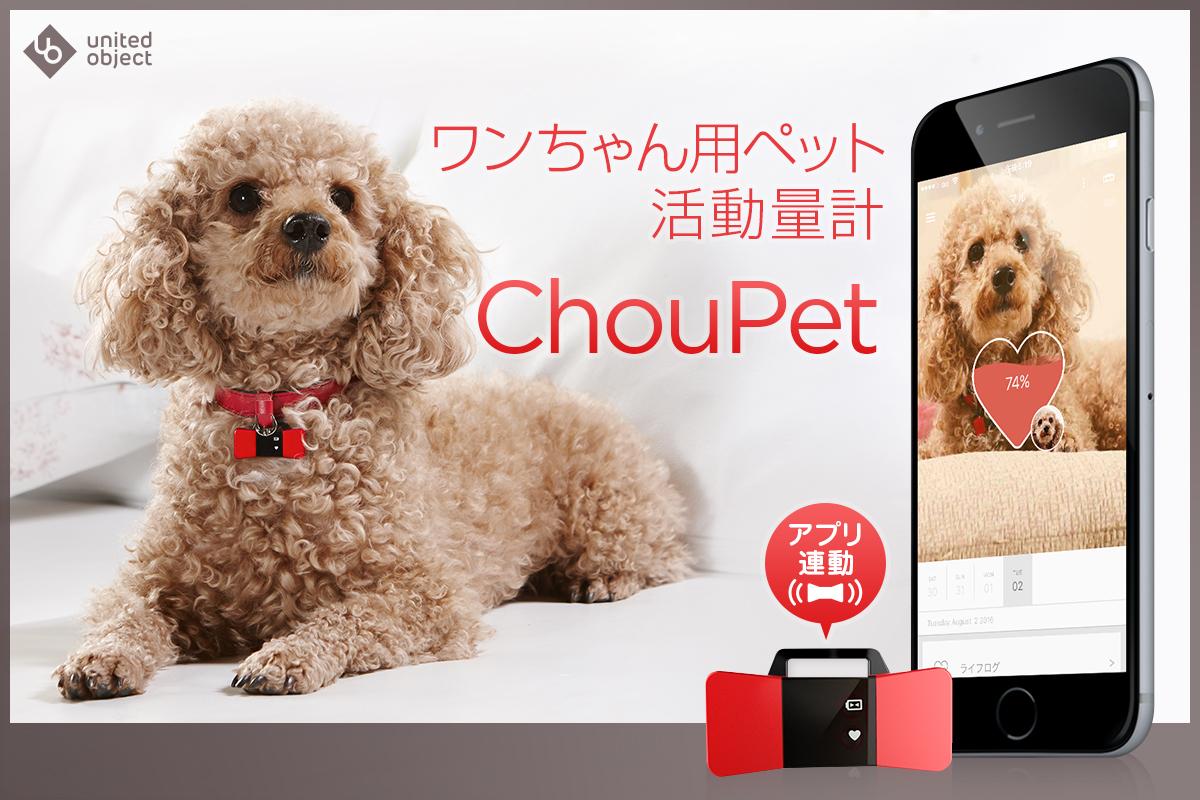ペット活動量計ChouPet(シューペット)