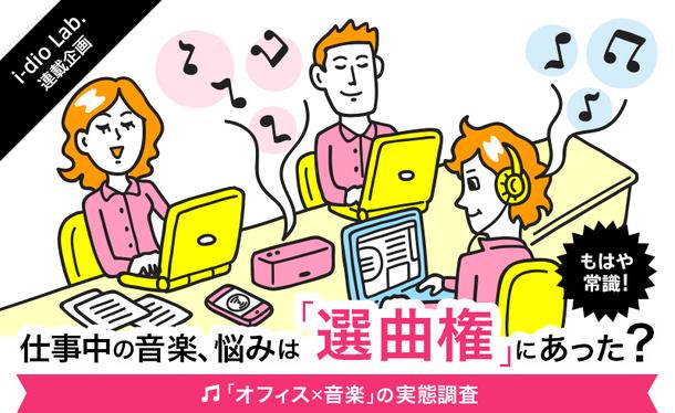 「オフィス×音楽」の実態調査