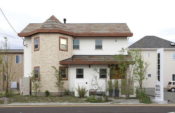 無添加住宅の外観