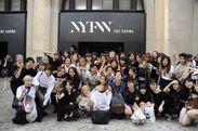 ニューヨークファッションウィークにて集合写真
