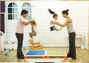 家族でジャンプ!