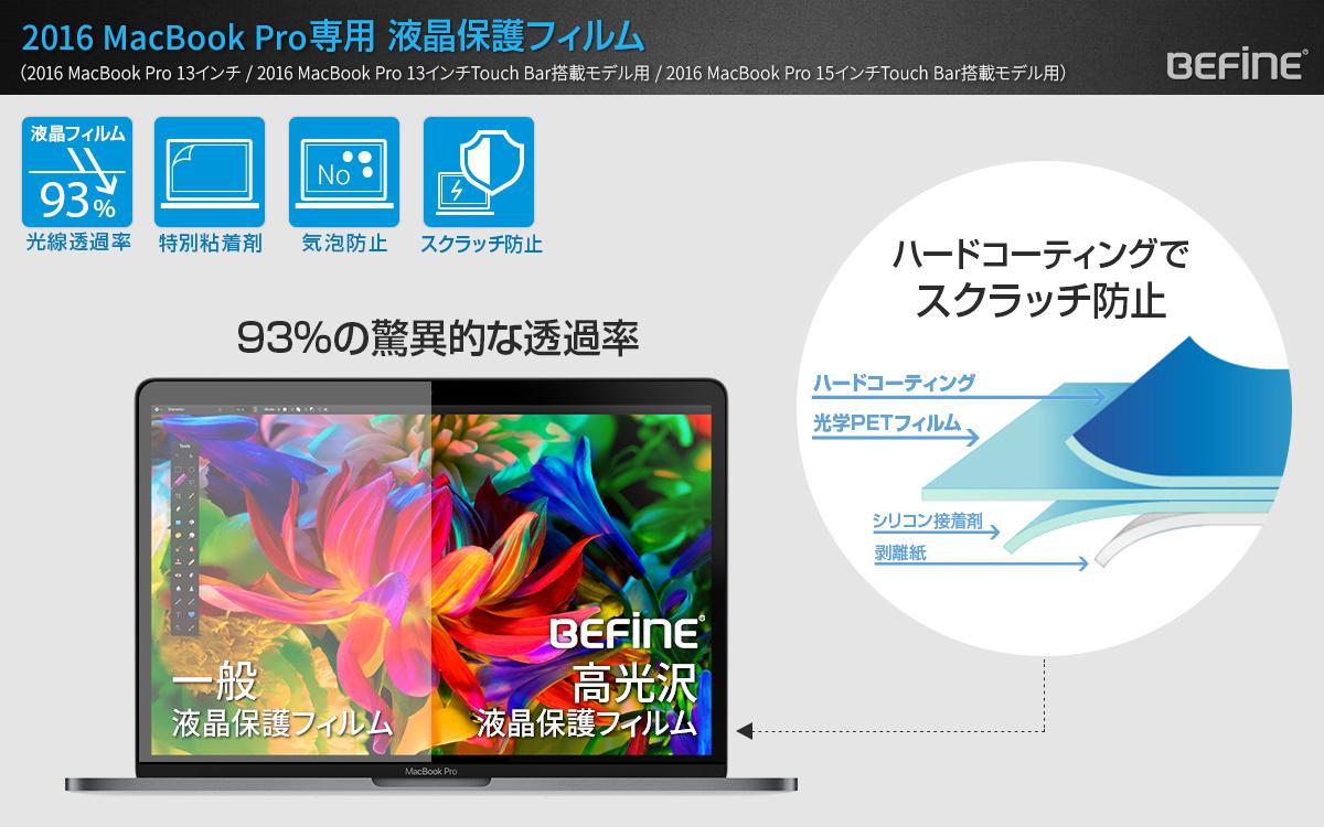 BEFiNE(ビファイン)液晶保護フィルム