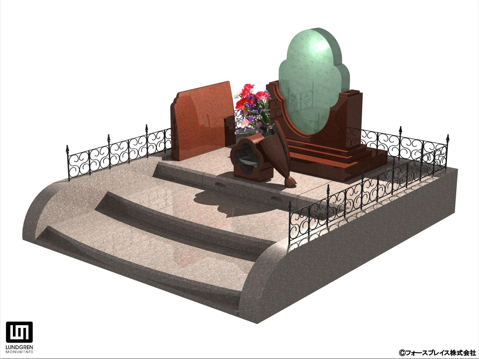 『光り墓』ニューデザイン イメージ  『光り墓』ニューデザイン イメージ 報道関係者向け お問い