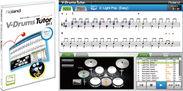 電子ドラム用練習ソフトウェア『V-Drums Tutor DT-1』