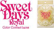 度ありカラコン「SWEET DAYS Royal」