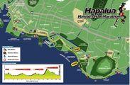ホノルルマラソン・ハパルア コースマップ