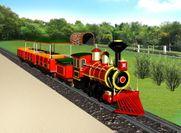 クラシカルバージョンに変身した「トレイン トレイン」※イメージ