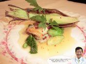 魚メイン(舌平目のムニエル・春野菜のソテー添え)