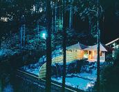 森林露天風呂