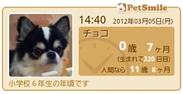 PetSmile ~年齢時計~