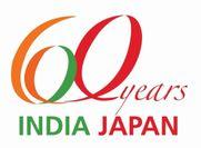 日印国交60周年ロゴ
