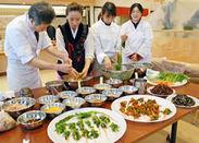 「京野菜キムチ」制作過程