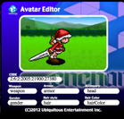 avatar.enchant.js 画面イメージ