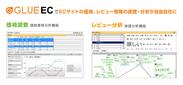 ECサイトの価格・レビュー情報の自動分析ツール「GLUE EC」