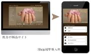 既存のWebサイト/ShopAPP導入例