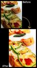 『SnapDish』で料理写真をおいしく加工