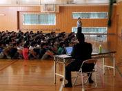 高城小学校高学年の授業風景