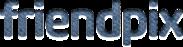 「friendpix」ロゴマーク