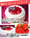 イチゴデコレーションケーキ