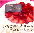 イチゴデコレーションケーキ2