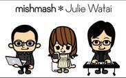 mishmash * Julie Watai 似顔絵イラスト