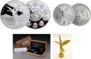 『メキシコ リベルタード1オンス銀貨発行30周年記念 銀貨2種セット』
