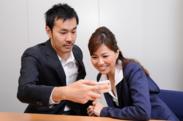 重田氏の指導により、相手との距離がぐっと縮まった編集部員