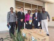 SARAYA East Africa代表の宮本氏(左から2人目)