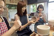古都鎌倉の工房で陶芸体験