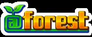 スマートフォン向けゲームブランド「@forest」ロゴ