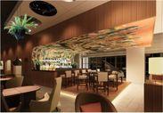 Bar天井壁画image(「オーケストラ」作:友永 太)