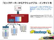 ビックデータ:Hadoop のデータを統合