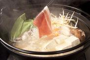 チンゲン菜の塩麹ごま油鍋