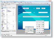 モバイルRIA開発画面