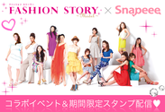 FASHION STORY×Snapeee