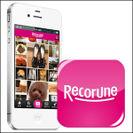iOSアプリ『Recorune(レコルネ)』