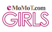 eMoMoT.com GIRLSロゴ