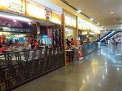 快適でレストランの多い地下飲食街