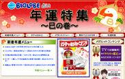 『年運特集~巳の巻~』 サイトイメージ