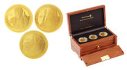 10ドル金貨3種