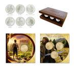 銀貨6種とアルミ黄銅貨各種