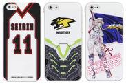 黒子のバスケ、TIGER&BUNNY、マクロスF新キャラクターカバー
