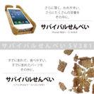 すでに割れているiPhoneケース