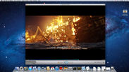 Macで再生中の画面