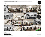 Collective Showroom WEBサイトイメージ