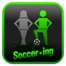 「サッカー・イング」ロゴ