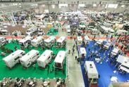 昨年開催されたキャンピングカーショー2012の様子