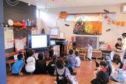 マンション共用ルームでの「キッズ英会話教室プログラム」実施イメージ